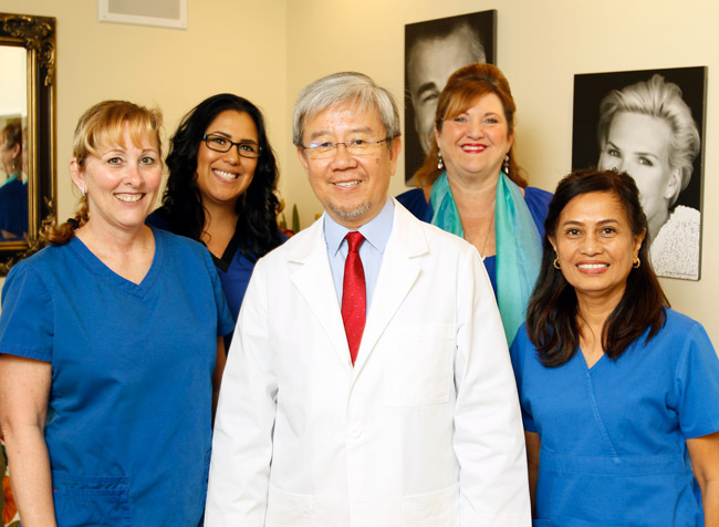 Dr. Choi and staff